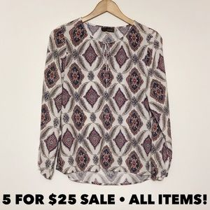 Crosby Peasant Top Tunic